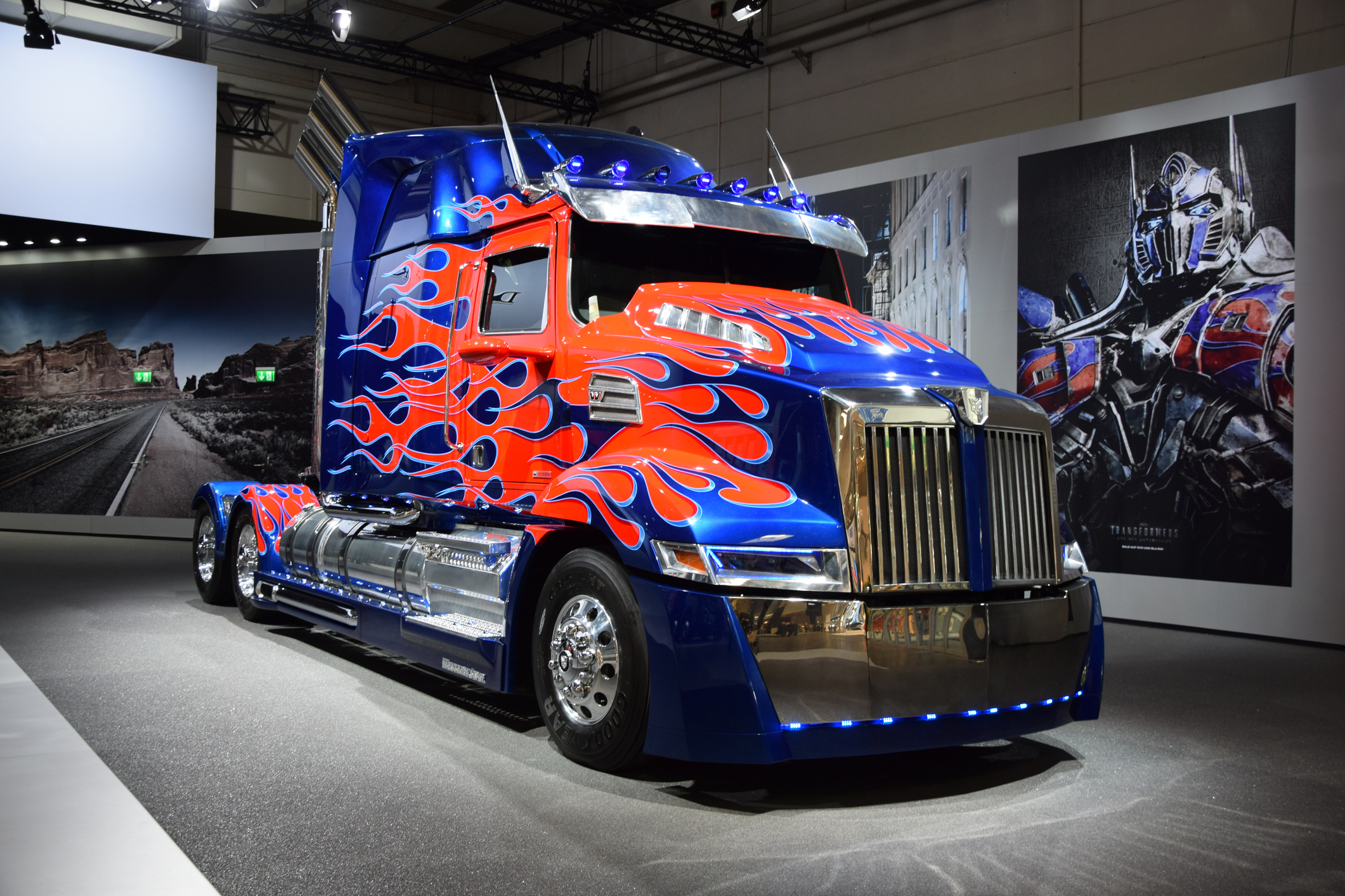 Optimus Prime - Western Star truck transformers | Today's ...