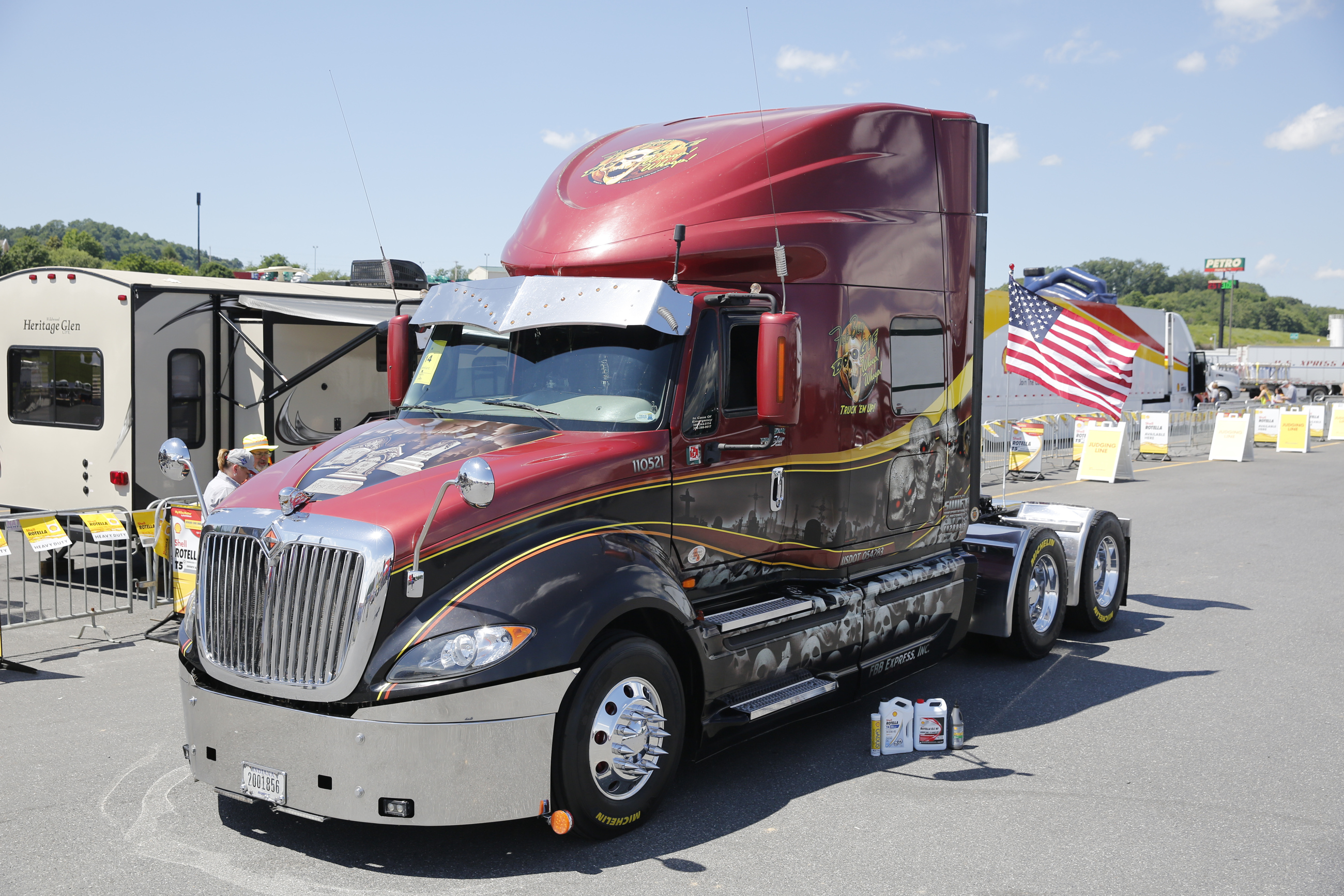 36th Annual Shell Rotella SuperRigs Truck Beauty Contest