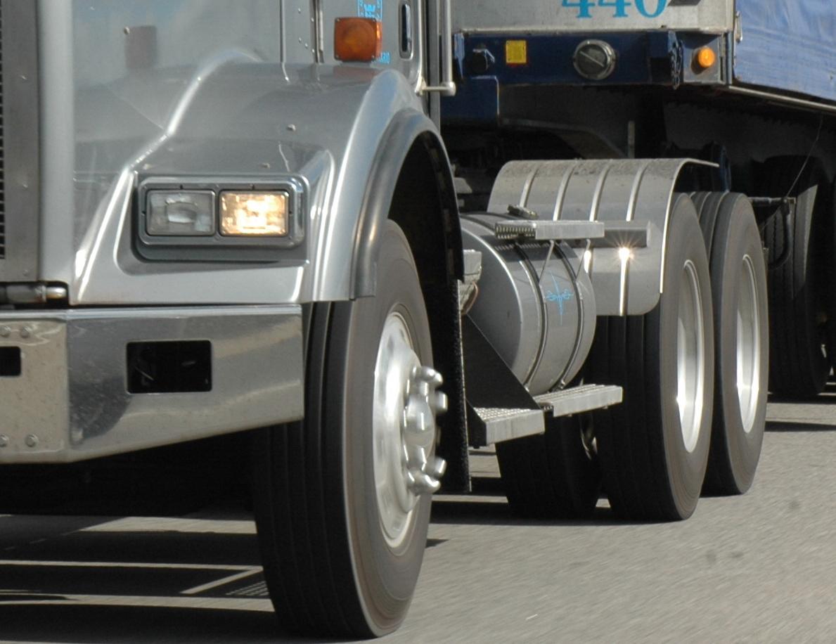Truck wheels prone to corrosion