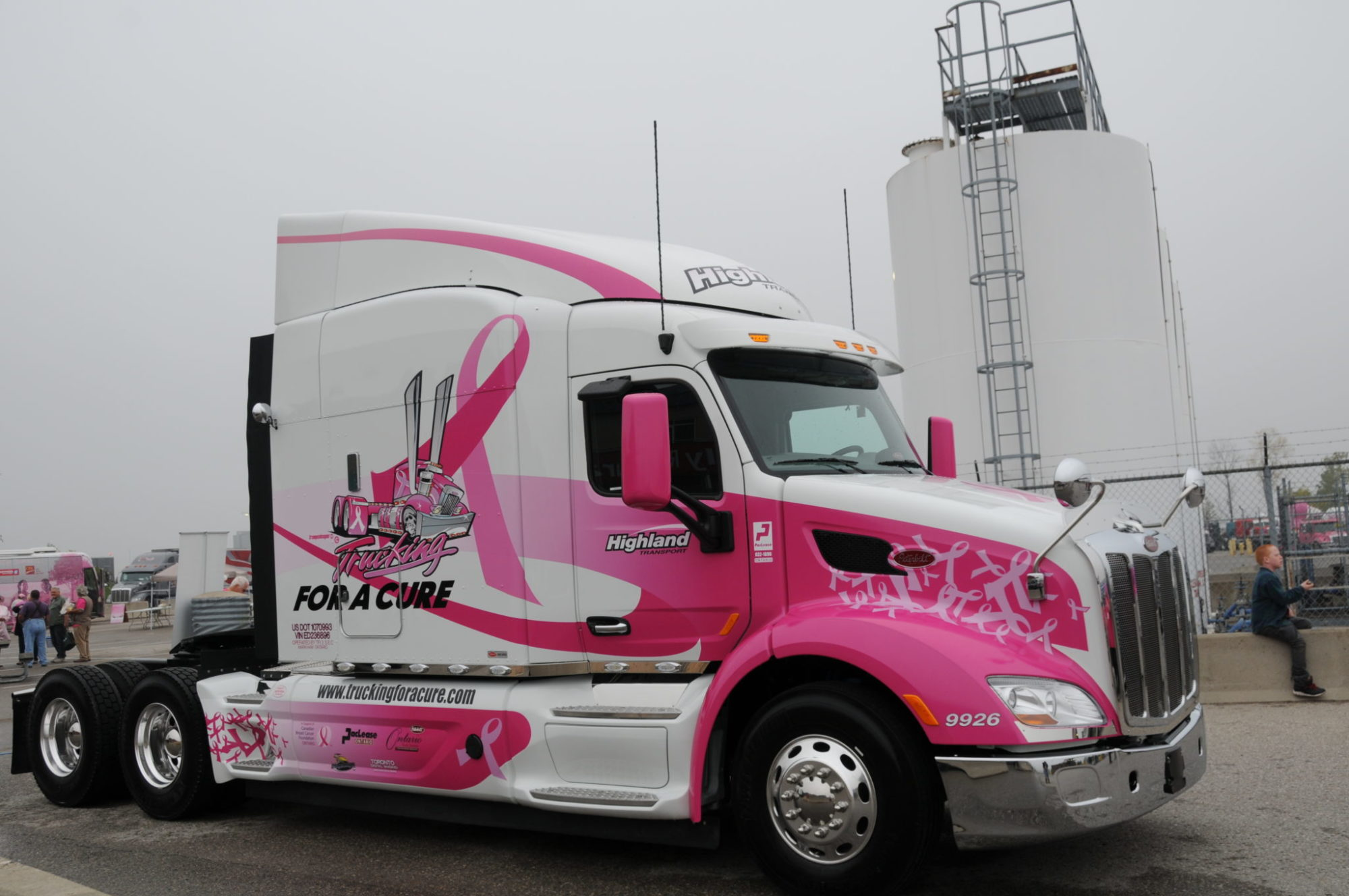 Trucking for a Cure Pinkie Truck
