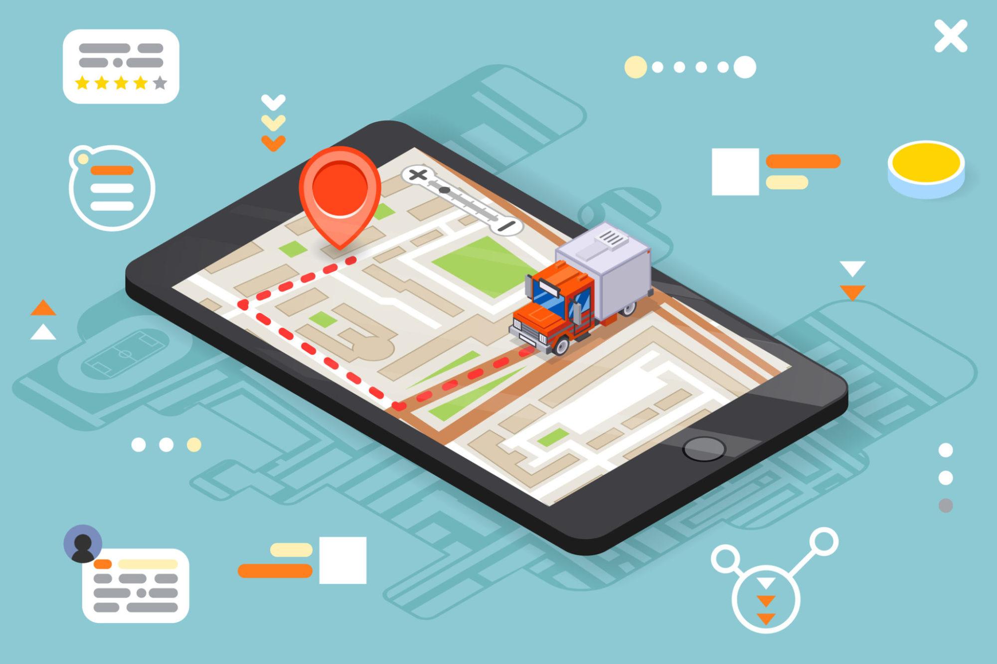 Digital truck tracking