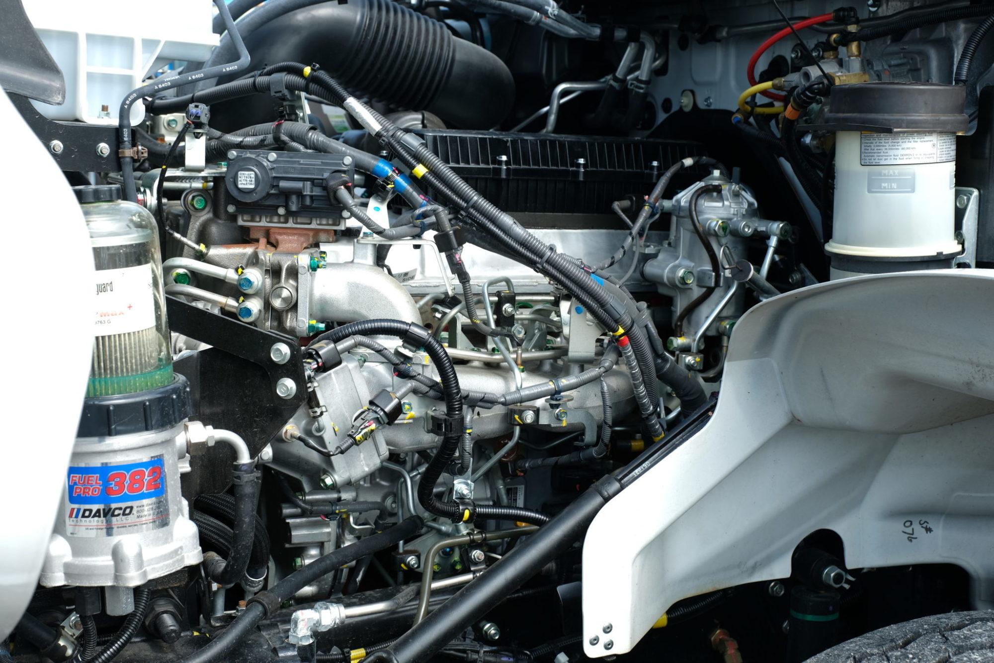 Hino A09 engine