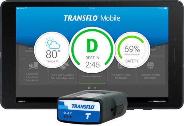 Transflo Galaxy tablet