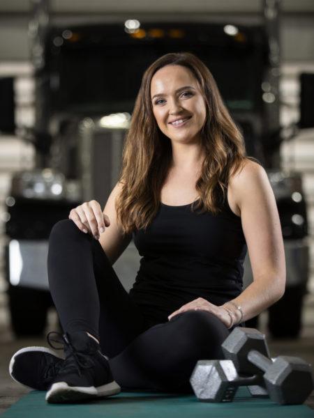 Andrea Morley, Healthy Trucker
