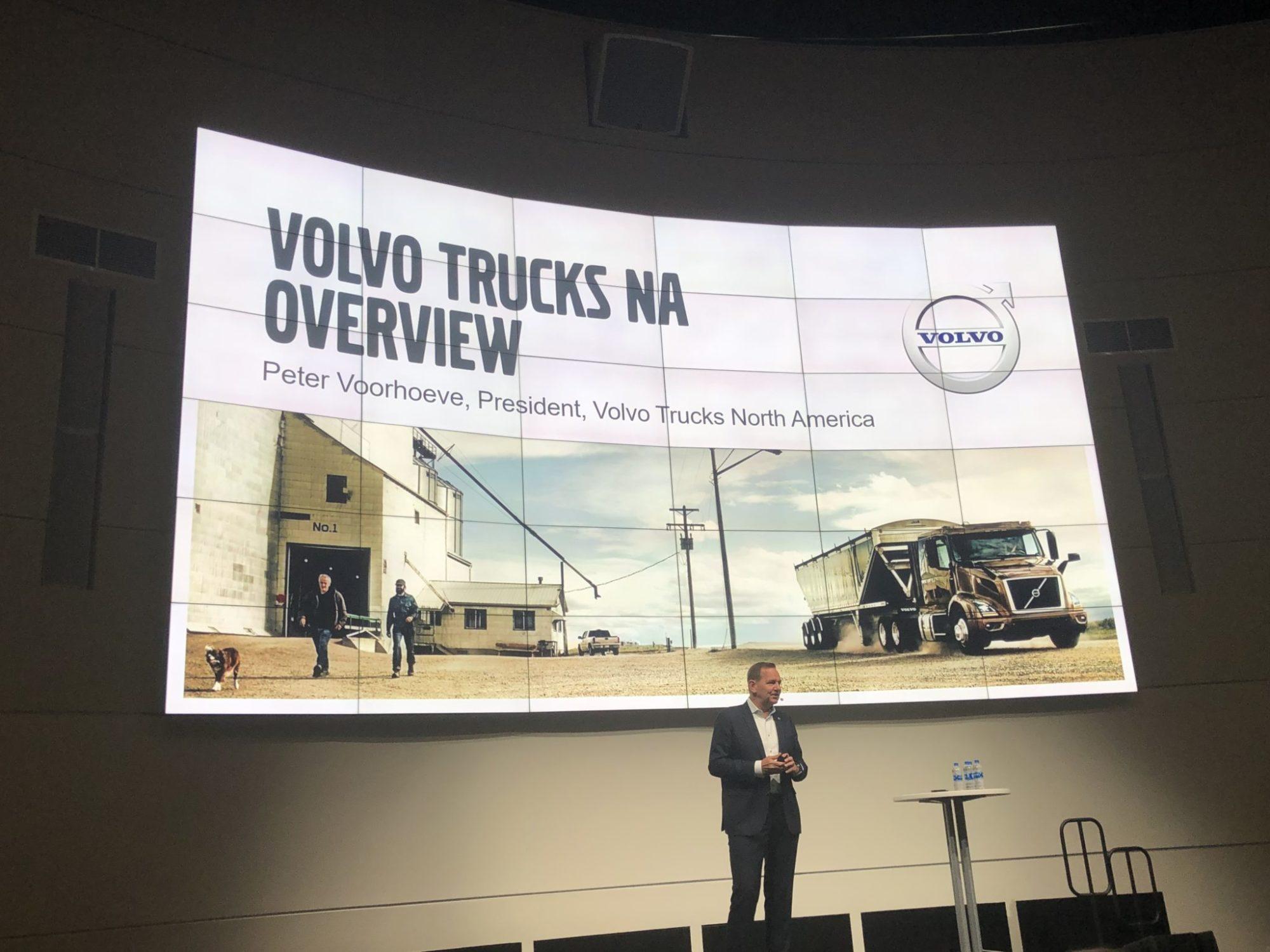 Peter Voorhoeve, president, Volvo Trucks North America