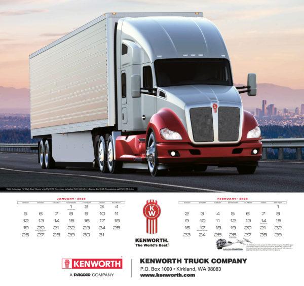 kenworth calendar