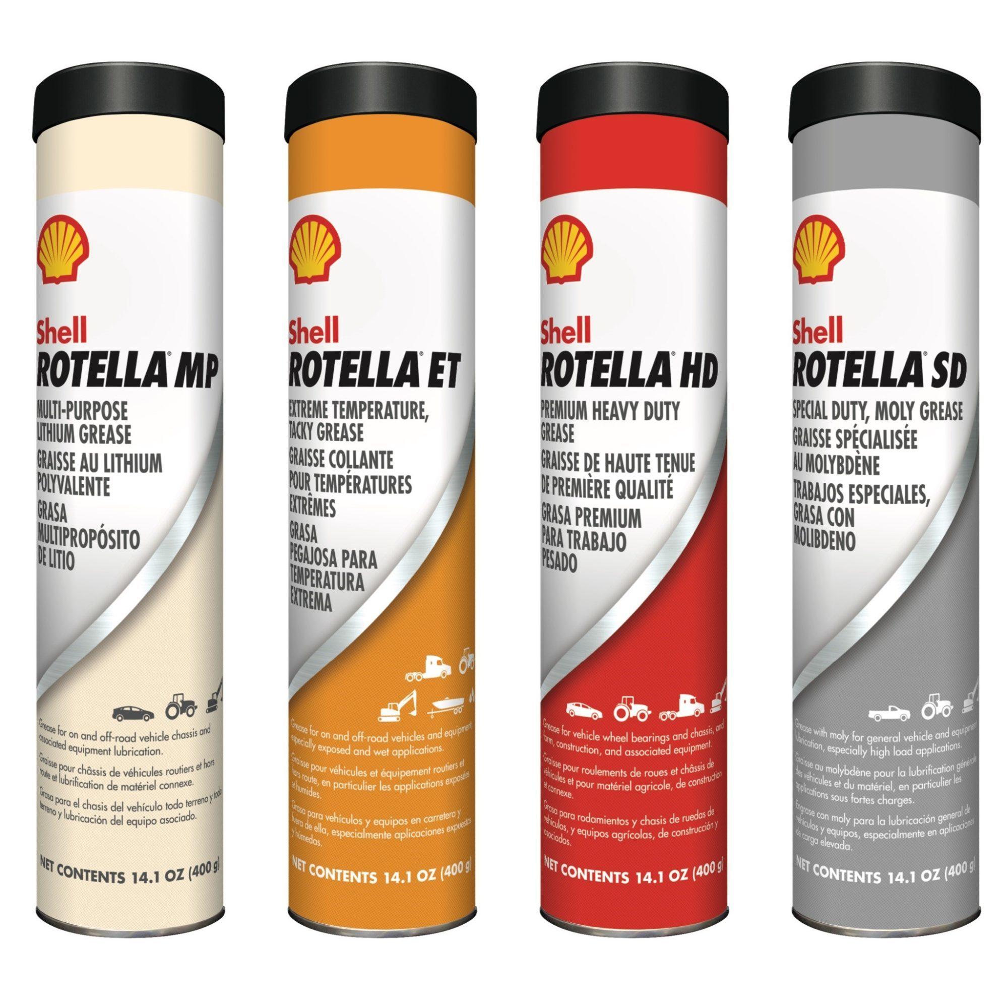Shell Rotella grease